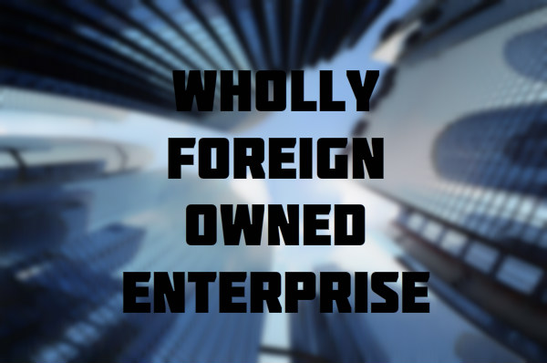 Wholly Foreign-Owned Enterprise