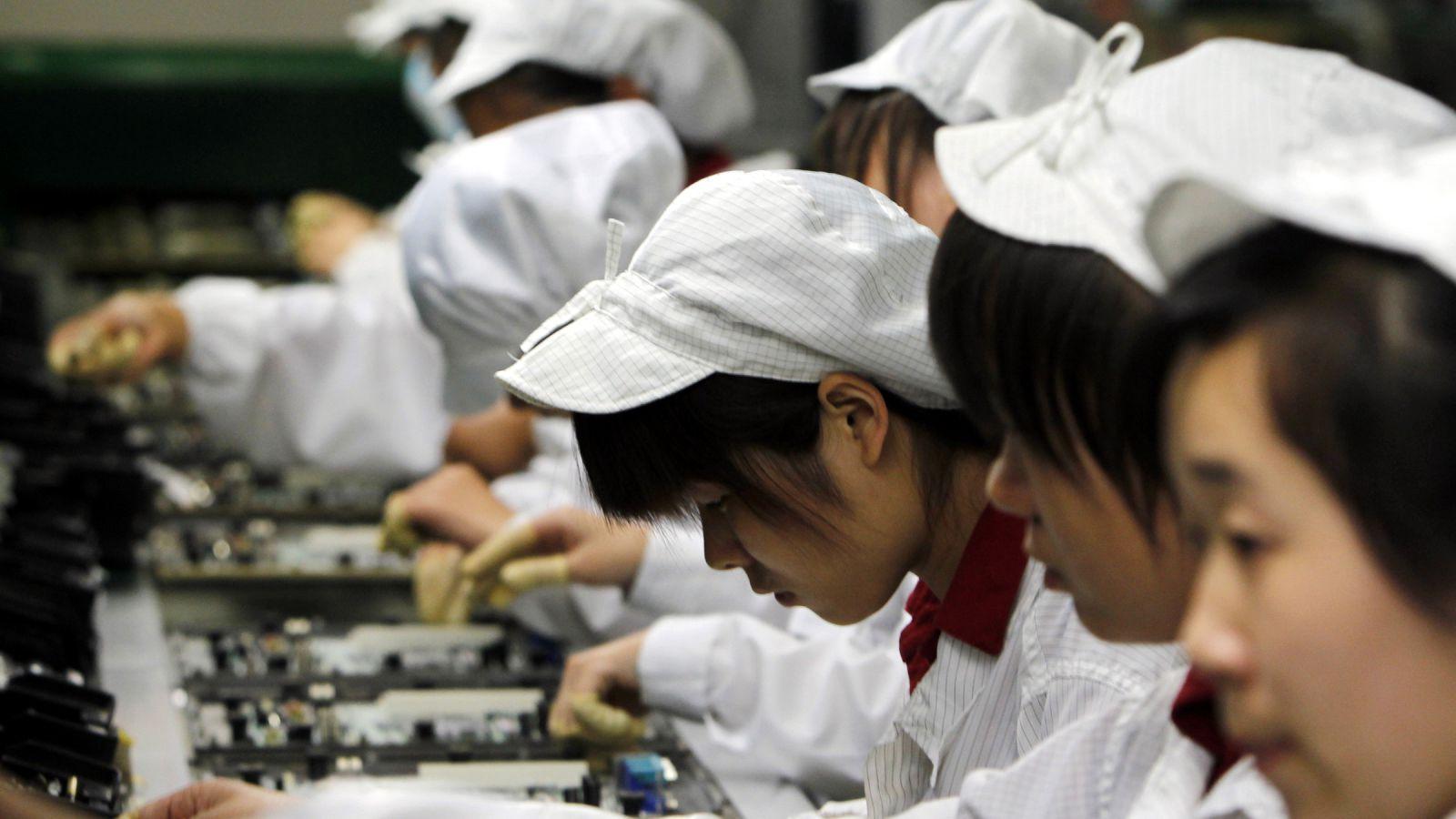 china employees